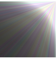 ray light background - graphic vector image