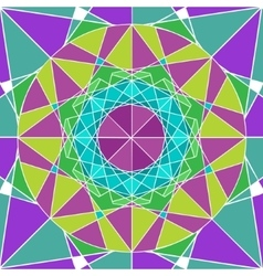 Geometry Mandala background vector image vector image