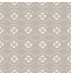 Seamless vintage wallpaper pattern vector image vector image