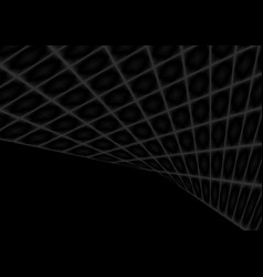 abstract black squares tech perspective background vector image