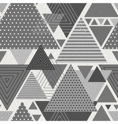 Abstract hipster polygon triangle background vector image