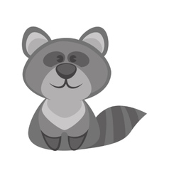 badger funny cartoon character Cute icon vector image