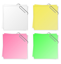 blank for the text of different colors template vector image