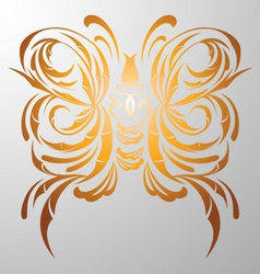 butterfly decorative vector image