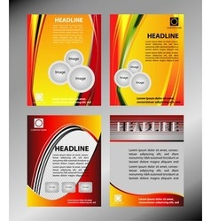 Corporate Business Brochure Flyer Magazin vector