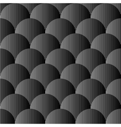 Design seamless monochrome sphere pattern vector image