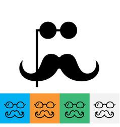 gentleman simple icon vector image