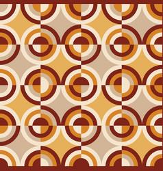 Italian mood tile vintage seamless pattern vector