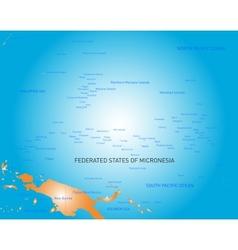 Micronesia vector image