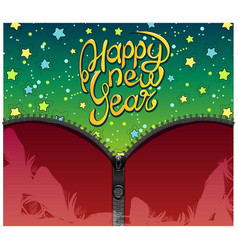 new year background design vector image