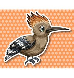 Rare bird vector