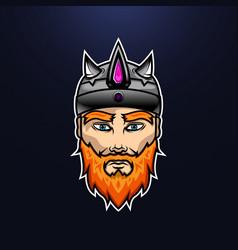 Vikig warrior design vector