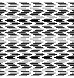 Zigzag striped texture vector