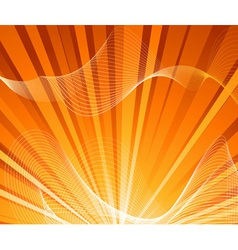 summer explosion card vector image vector image