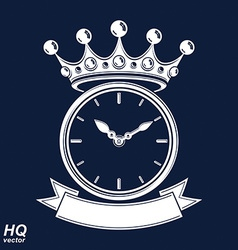 Best time management award eps8 icon luxury wall vector