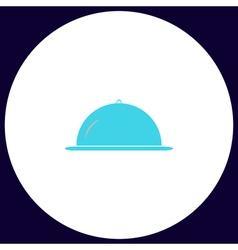 Cloche computer symbol vector