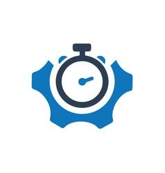 Design efficiency icon vector