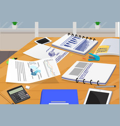 Office paper documantation vector