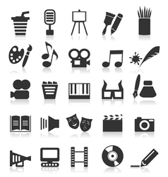 Art icon2 vector image