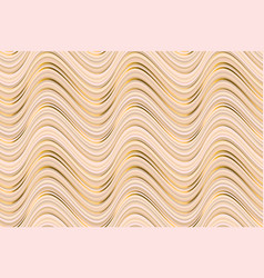 abstract luxury beige waves seamless pattern vector image