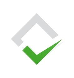 Check mark logo Ok logo template icon Yes vector