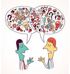 Opinions ideas vector