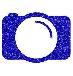 photo camera icon grunge watermark vector image