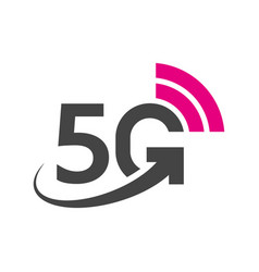Technology icon network sign 5g vector