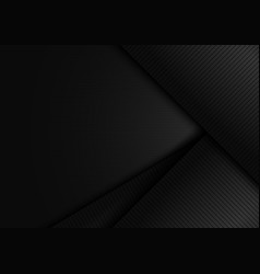 abstract black shiny layer diagonal with stripes vector image