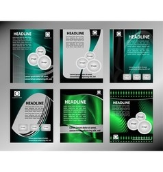 Business flyer template or corporate banner vector