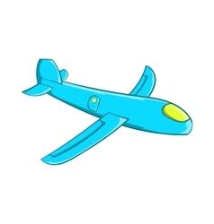 Children plane icon cartoon style vector