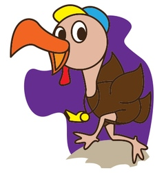 Coach Turkey vector image