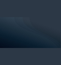 Dark blue gradient abstract background with vector