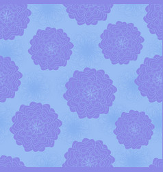 floral seamless pattern wallpaper wrapping paper vector image