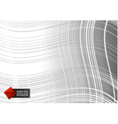 Line curve gray color geometric abstract on vector