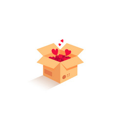 love is in the air love box vector image