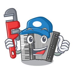 Plumber accordion isolated with in the character vector