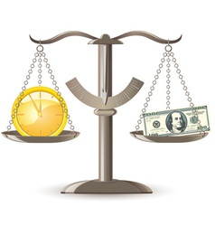 Scales choice time money vector