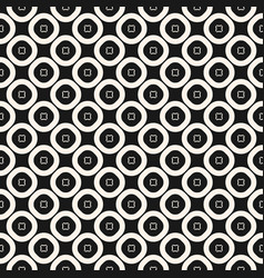 simple geometric texture with perforated circles vector image