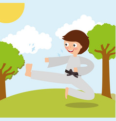 Sport kids activity vector