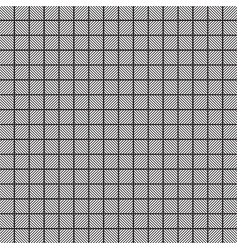 square black and white graphic pattern vector image