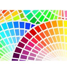 Color spectrum palette background vector