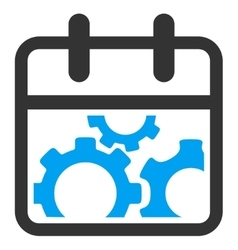 Technical Date Icon vector image