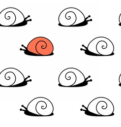 snailpat vector image vector image