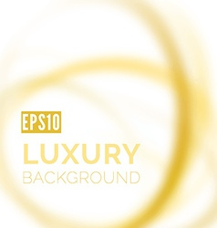 Blurred luxury smooth swoosh wave background vector image