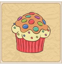 Cupcakes06 vector