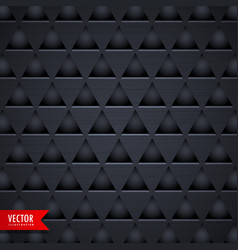 dark triangle texture pattern background vector image