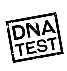 Dna test stamp typ vector