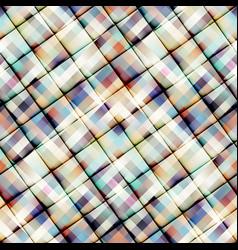 geometric plaid pattern vector image