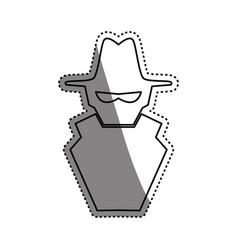 Malware spyware symbol vector
